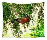 Cedar Waxwing Beauties 19 Tapestry