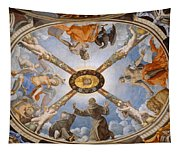 Ceiling Of The Chapel Of Eleonora Of Toledo Tapestry