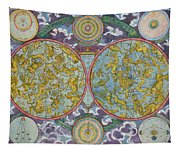 Celestial Map Of The Planets Tapestry
