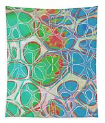 Cells 11 - Abstract Painting  Tapestry
