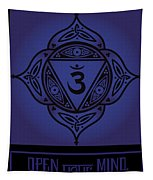 Celtic Tribal Third Eye Chakra Tapestry
