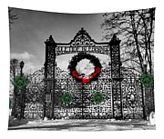 Celtic Yuletide Blessings Tapestry