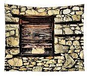 Cement Factory Window Tapestry