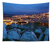 Cemetery Overlooking Fes, Morocco Tapestry