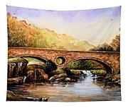 Cenarth Bridge And Falls Tapestry