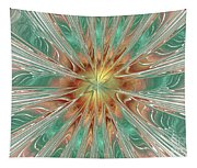 Center Hot Energetic Explosion Tapestry
