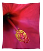 Center Of Attention - Hibiscus 01 Tapestry
