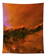 Center - Triptych - Stellar Spire In The Eagle Nebula Tapestry