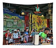 Central B B Q # 2- Memphis Tapestry