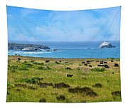 Central Coast Panorama - Hwy 1 Tapestry