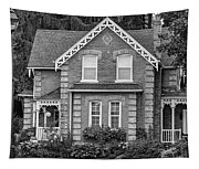 Century Home - Bw Tapestry