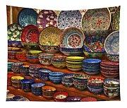 Ceramic Dishes Tapestry