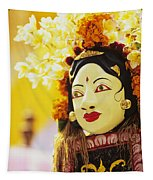 Ceremonial Mask Tapestry