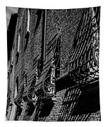 Cesena In Black And White Tapestry