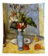 Cezanne: Blue Vase, 1885-87 Tapestry