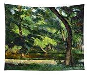 Cezanne: Etang, 1877 Tapestry