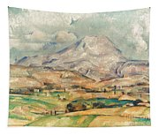 Cezanne: St. Victoire, 1897 Tapestry