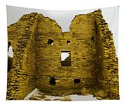 Chaco Canyon Ruins Tapestry