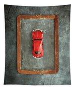 Chalkboard Toy Car Tapestry