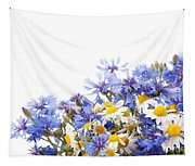 Chamomile And Cornflower Mix Tapestry