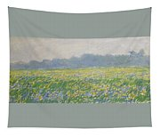 Champ D'iris A Giverny Tapestry