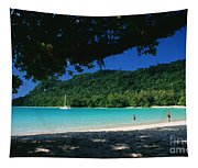 Champagne Beach Tapestry