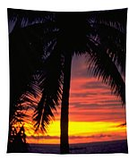 Champagne Sunset Tapestry