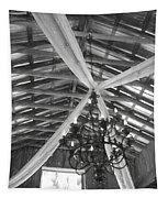 Chandelier In The Rafters Tapestry