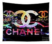 Chanel Black Tapestry