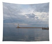 Chania Old Harbour Tapestry