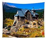 Chapel On The Rock  Tapestry
