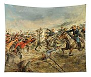 Charge Of The Seventh Cavalry Tapestry