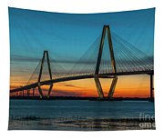 Charleston Golden Hour Tapestry