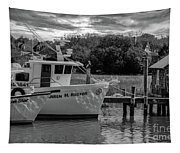 Charleston Star In Monochrome Tapestry
