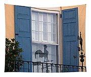 Charleston Weathervane Reflection Tapestry