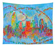 Charlotte Spiral Tapestry