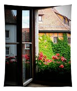 Charming Rothenburg Window Tapestry