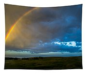 Chasing Nebraska Lightning 009 Tapestry