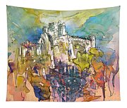 Chateau Cathare De Puylaurens 01 - France Tapestry