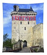 Chateau De Chinon Tapestry