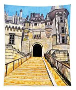 Chateau Saumur, A Long Way Up Tapestry
