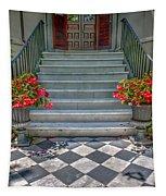 Checkered Tile Tapestry