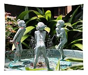 Cheekwood Fountain Tapestry