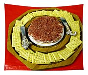 Cheese And Crackers Tapestry