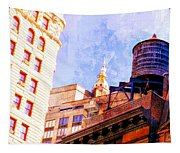Chelsea Water Tower Tapestry