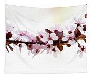 Cherry Blossom Branch Tapestry