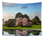 Cherry Tree Reflections Tapestry