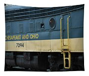Chesapeake And Ohio Boxcar  Tapestry