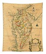Chesapeake Bay 1786 Tapestry