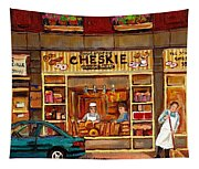 Cheskies Hamishe Bakery Tapestry
